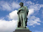 Monument of Alexander Pushkin — Stock Photo