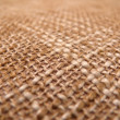 Stock Photo: Texture of burlap