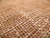 Texture of a burlap — Stock Photo