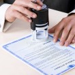 Stock Photo: Notary Seal