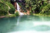 Lake & Waterfall — Stock Photo