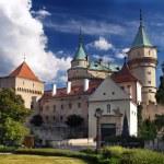 Bojnice castle - Entrance — Stock Photo