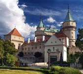 Bojnice castle - Entrance — Stock Photo