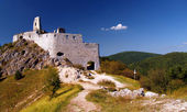 The Castle of Cachtice — Stock Photo