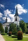 Church in Dolny Kubin — Stock Photo