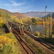 Railroad bridge - Stock Photo