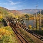 Railroad bridge — Stock Photo #2257484