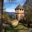 Stock Photo: Ancient wooden fortification