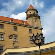 Tower - Bratislava Castle — Stock Photo