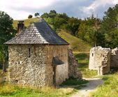Sklabina Castle entrance — Stock Photo