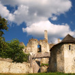 Stock Photo: Ruined SklabinCastle, Slovakia.