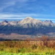 The Tatra Mountains in Summer — Foto de Stock