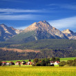 The Tatra Mountains in Summer — Stockfoto