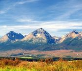 Colorful Tatra Mountains in Summer — Stock Photo