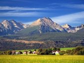 The Tatra Mountains in Summer — Stock Photo