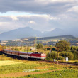 Fast train & Mountains — Stock Photo #2408884