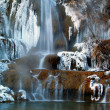 Royalty-Free Stock Photo: Waterfall in winter