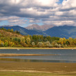 Stock Photo: Dry shore (LiptovskMara), Slovakia.