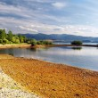 Shore - Liptovska Mara Lake — Stock Photo