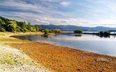 Shore - Liptovska Mara Lake — Stock Photo