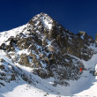 The Lomnicky Peak — Stock Photo