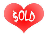 Love Sold — Stock Photo