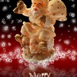 Merry Christmas Card - Foto Stock