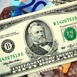 Stock Photo: Fifty American Dollars