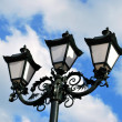 Stock Photo: Triple lantern