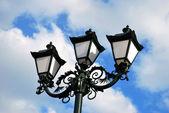 Triple lantern — Stock Photo