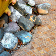 Stock Photo: Colored Stones Fantasy Composition