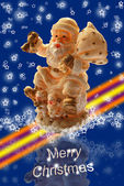 Merry christmas card — Stockfoto