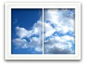 Niebo okienny — Zdjęcie stockowe