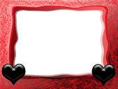 Gothic Valentine Frame — Stock Photo