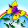 Bright Butterfly — Stock Photo