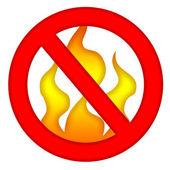 No Fire — Stock Photo