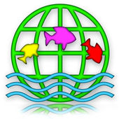 Jumping Fishes — Stock Photo