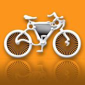 Futuristic Bicycle — Stock Photo