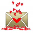 Royalty-Free Stock Photo: Romantic Letter