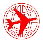 Global Aircraft — Stock Photo