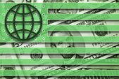 глобальная валюта — Стоковое фото