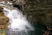Rapids, blurred whitewater — Stock Photo