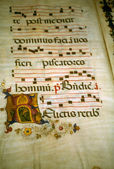Illuminated manuscript, — Stock Photo