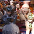 Stock Photo: Handmade Indifigurines