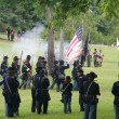 Union infantry column — Stock Photo