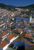 Tiled rooftops, narrow streets — Stock Photo