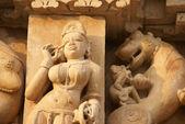 Tanrıların, efsanevi rakamlar heykel sergisi — Stok fotoğraf