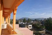 View from hotel veranda — Stock Photo