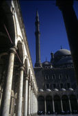 Interior, courtyard of Mosque — Stock Photo
