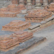 Stock Photo: Ruins of ancient Buddhist monastery